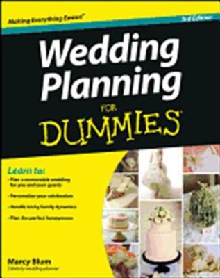 Wedding Planning For Dummies  -     By: Marcy Blum