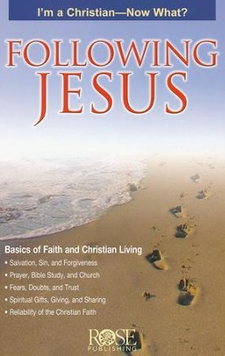 Following Jesus Pamphlet - 5 Pack  -