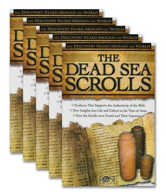 The Dead Sea Scrolls Pamphlet - 5 Pack   -
