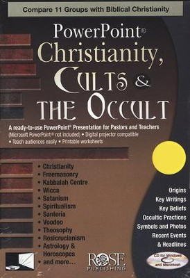 Christianity, Cults, & the Occult: PowerPoint CD-ROM  -