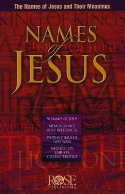 Names of Jesus, Pamphlet   -
