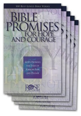 Bible Promises for Hope and Courage, Pamphlet - 5 Pack   -