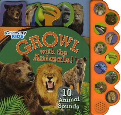Growl With The Animals!  -     By: Parragon Books