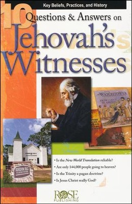 10 Questions & Answers on Jehovah's Witnesses Pamphlet, 5 Pack   -