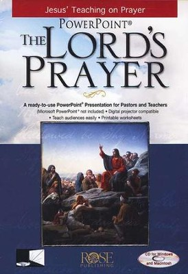 The Lord's Prayer - PowerPoint CD-ROM   -