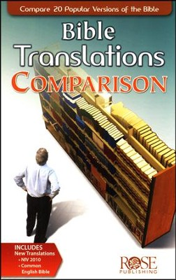 Bible Translations Comparison, Pamphlet - 5 Pack   -