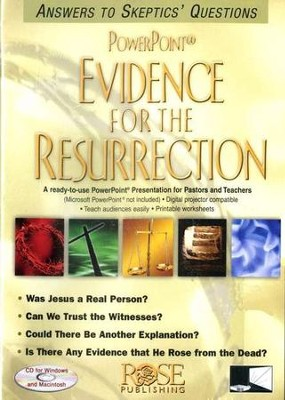 Evidence for the Resurrection: PowerPoint CD-ROM  -