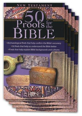 50 Proofs for the Bible: New Testament, Pamphlet - 5 Pack   -
