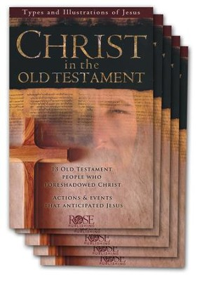 Christ in the Old Testament Pamphlet - 5 Pack  -