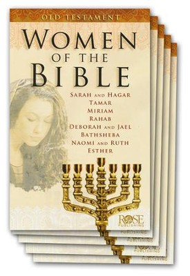 Women of the Bible: Old Testament, Pamphlet - 5 Pack   -