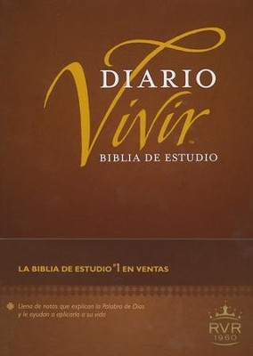 Biblia de Estudio Diario Vivir RVR 1960, Enc. Dura  (RVR 1960 Life Application Study Bible, Hardcover)  -