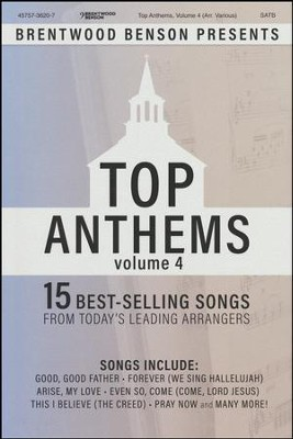 Top Anthems, Volume 4 (Choral Book)   -