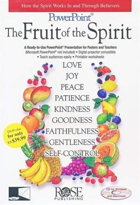 Fruit of the Spirit: PowerPoint CD-ROM  -
