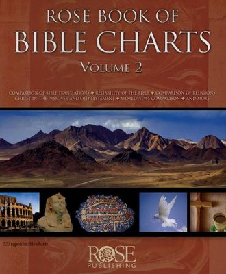Rose Book of Bible Charts, Volume 2  - Slightly Imperfect  -