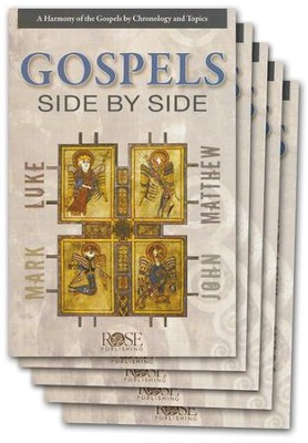 Gospels Side-by-Side Pamphlet - 5 Pack  -