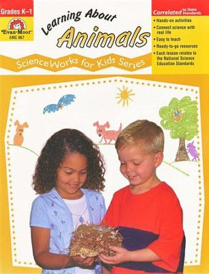 ScienceWorks for Kids: Learning About Animals, Grades K-1   -