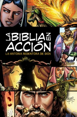 La Biblia en Acción, Enc. Dura  (The Action Bible, Hardcover)  -     By: David C. Cook, Doug Mauss, Sergio Cariello