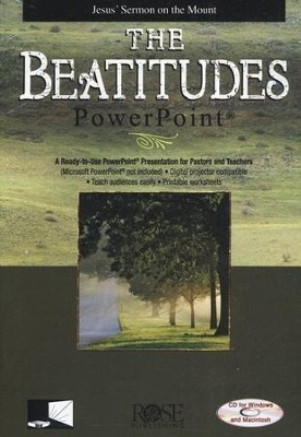 The Beatitudes: PowerPoint CD-ROM  -