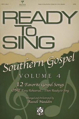 Ready to Sing Southern Gospel, Volume 4  -