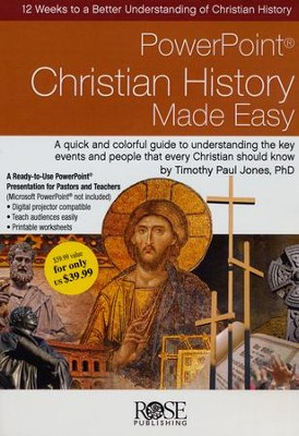 Christian History Made Easy: PowerPoint CD-ROM  -