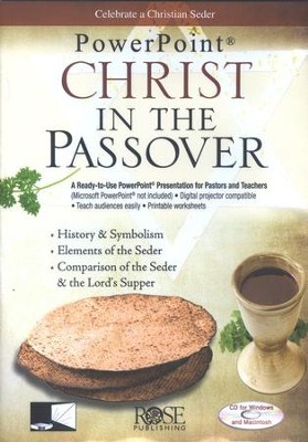 Christ in the Passover: PowerPoint CD-ROM  -