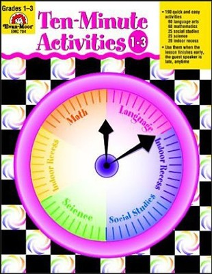 Ten-Minute Activities, Grades 1-3   -