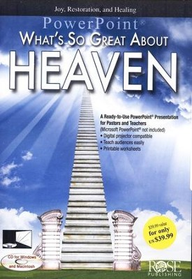 What's So Great About Heaven: PowerPoint CD-ROM   -