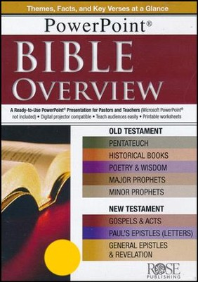 Bible Overview: PowerPoint CD-ROM  -