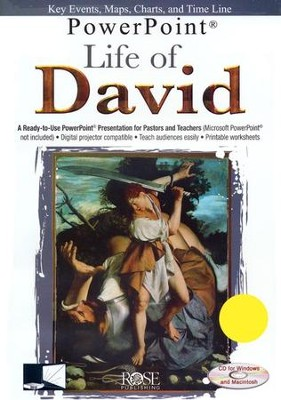 Life of David: PowerPoint CD-ROM  -