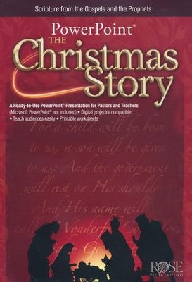 The Christmas Story: PowerPoint CD-ROM  -