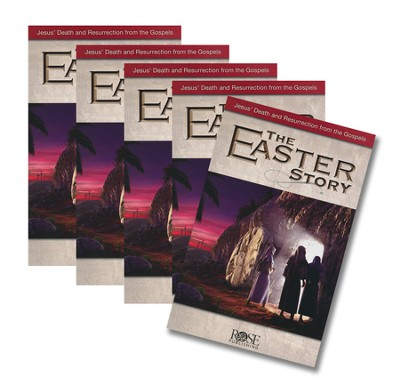 The Easter Story, Pamphlet - 5 pack   -