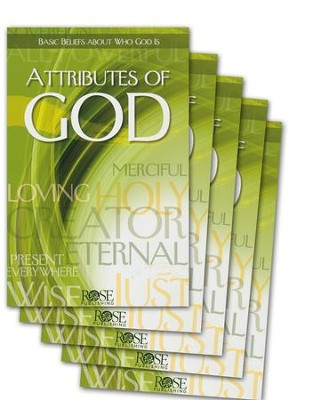 Attributes of God, Pamphlet - 5 pack   -