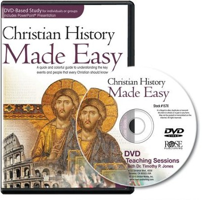 Christian History Made Easy, DVD Based Study   -     By: Timothy Jones