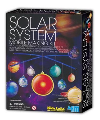 Glow Solar System Mobile Kit   -