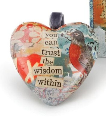 Deepest Calling Heart Ornament  -     By: Kelly Rae Roberts