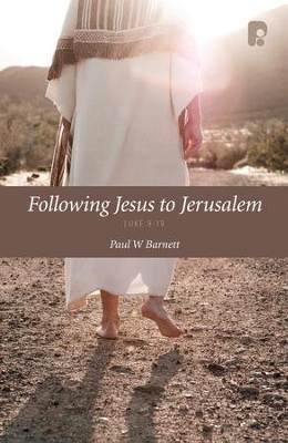 Following Jesus To Jerusalem - eBook  -     By: Paul Barnett