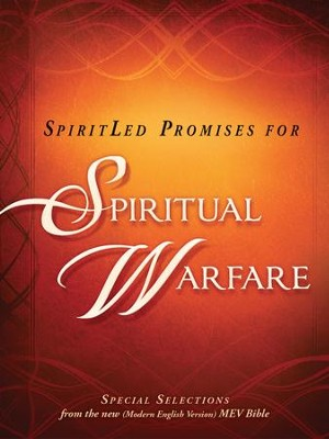 SpiritLed Promises for Spiritual Warfare: Special selections from the (Modern English Version) MEV Bible  -     By: Charisma House