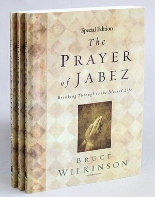 Prayer of Jabez, 3-Pack   -     By: Bruce Wilkinson