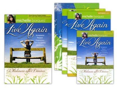 Live Again: Wholeness After Divorce, 8-Session DVD, Complete Kit    -     By: Michelle Borquez