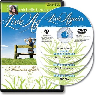 Live Again: Wholeness After Divorce Group DVD Kit   -     By: Michelle Borquez