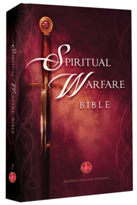 MEV (Modern English Version) The Spiritual Warfare Bible Hardcover  -     By: Charisma House