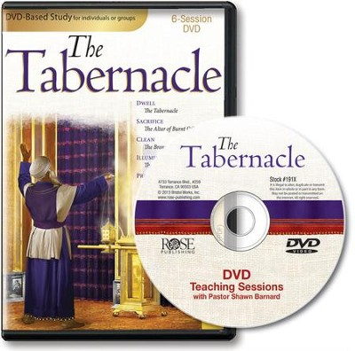 Tabernacle 6-Session DVD   -     By: Shawn Barnard