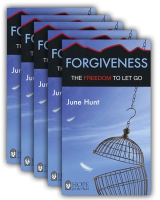Forgiveness: The Freedom to Let Go - 5 Pack   -