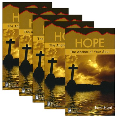 Hope: The Anchor of Your Soul - 5 Pack   -     By: June Hunt