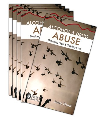 Alcohol and Drug Abuse: Breaking Free & Staying Free - 5 Pack   -     By: June Hunt