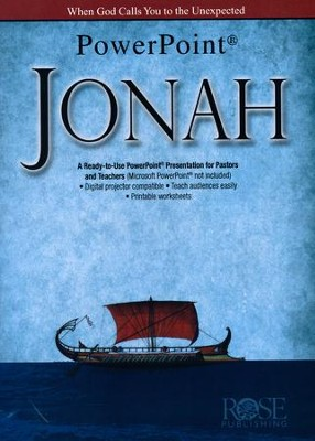 Jonah Powerpoint CD  -