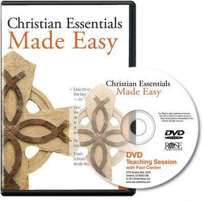 Christian Essentials Made Easy Single Session DVD   -     By: Paul Cardin