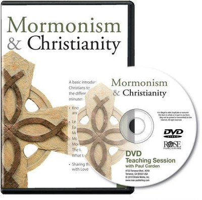 Mormonism & Christianity - Single Session DVD   -     By: Paul Cardin