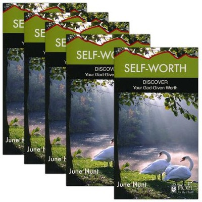 Self-Worth: Discover Your God-Given Worth - 5 Pack   -     By: June Hunt
