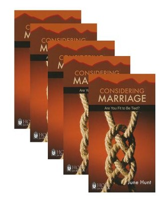 Considering Marriage: Are You fit to Be Tied? - 5 Pack   -     By: June Hunt